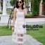 ชุดเดรสเกาหลี พร้อมส่ง Dress Ks สายเดี่ยวเส้นใหญ่ thumbnail 3