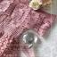 เดรสเกาหลี พร้อมส่ง เดรสลูกไม้ เปิดไหล่ thumbnail 17