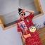 เดรสเกาหลี พร้อมส่ง Dress คอปกเชิ๊ต ลายสก๊อต thumbnail 13