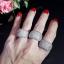 พร้อมส่ง diamond line ring แหวนเพชรทรง9ชั้น thumbnail 4