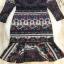 ชุดเดรสเกาหลี พร้อมส่ง เดรส ผ้าเนื้อหนา พิมลายสวย thumbnail 7