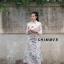 ชุดเดรสเกาหลี พร้อมส่ง เสื้อเชิ้ต กับ เดรสพิมพ์ลาย thumbnail 2