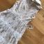 เดรสเกาหลี พร้อมส่ง เดรสผ้าลูกไม้ ตกแต่งปกและซิป thumbnail 11
