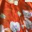 เดรสเกาหลี พร้อมส่ง เดรสทรงปล่อย สีส้มทองพิมลายดอกไม้ thumbnail 12