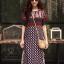 เดรสเกาหลี พร้อมส่ง Maxi Dress ผ้าสปัน นิ่มพริ้ว thumbnail 5