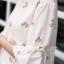 เสื้อเกาหลี พร้อมส่ง เสื้อกึ่ง มินิเดรส ลายดอกวินเทจ thumbnail 11
