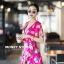 เสื้อผ้าเกาหลี พร้อมส่ง จั้มสูท ขาสั้นสีสันสดใส thumbnail 2