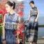 เดรสเกาหลี พร้อมส่ง Maxi เดรสผ้าชีฟอง เนื้อพริ้ว thumbnail 2