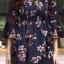 ชุดเดรสเกาหลี พร้อมส่ง dress ปริ้นลายดอก thumbnail 6