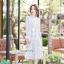 เดรสเกาหลี พร้อมส่ง Maxi dress คอจีน thumbnail 11