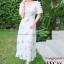 ชุดเดรสเกาหลี พร้อมส่ง Princess Dress ผ้าปักน้องผึ้ง thumbnail 1