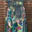 พร้อมส่ง long dress ผ้าชีฟองหลากสีโทนสีเขียวขี้ม้า thumbnail 10