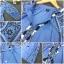 เดรสเกาหลี พร้อมส่ง เดรส ผ้าฝ้ายคอตตอนผสมยีนส์ thumbnail 8