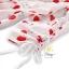 ชุดเดรสเกาหลี พร้อมส่ง มินิเดรส ผ้าไหมอิตาลี่พิมพ์ลายหัวใจ thumbnail 3