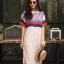 เดรสเกาหลี พร้อมส่ง Maxi Dress ผ้าสปัน นิ่มพริ้ว thumbnail 10