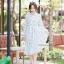 เดรสเกาหลี พร้อมส่ง Maxi dress คอจีน thumbnail 12