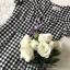 เดรสเกาหลี พร้อมส่ง Mini dress ลายตาราง Scott thumbnail 4