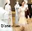 ชุดเดรสเกาหลี พร้อมส่ง Dress แขนสั้น คอวี thumbnail 2