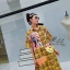 เดรสเกาหลี พร้อมส่ง Dress คอปกเชิ๊ต ลายสก๊อต thumbnail 4