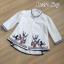 พร้อมส่ง เสื้อสไตส์เกาหลี งานปักแน่น thumbnail 11