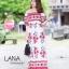 ชุดเดรสเกาหลี พร้อมส่ง เดรสกระโปรงยาว ปาดไหล่ แขนตุ๊กตา thumbnail 5