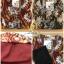 เดรสเกาหลี พร้อมส่ง ชุดเดรส ผ้าชีฟอง ช่วงอกปักลูกปัด thumbnail 16