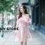 ชุดเดรสเกาหลี พร้อมส่ง ชุดเปิดไหล่ style เจ้าหญิง ฟูฟ่อง thumbnail 13