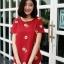 เสื้อเกาหลี พร้อมส่ง เสื้อญ๊่ปุ่น ปักดอกวินเทจ thumbnail 9