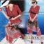เดรสเกาหลี พร้อมส่ง เดรสผ้าซาติน ซิลพิมพ์ลาย thumbnail 1
