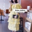 ชุดเดรสเกาหลี พร้อมส่ง Maxi Dress เปิดไหล่ thumbnail 4