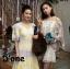 ชุดเดรสเกาหลี พร้อมส่ง Dress แขนสั้น คอวี thumbnail 3