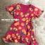 เสื้อผ้าเกาหลี พร้อมส่ง จั้มสูท ขาสั้นสีสันสดใส thumbnail 5