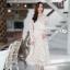 เดรสลูกไม้ พร้อมส่ง dress ลูกไม้เกาหลีเนื้อดี ทรงสวย thumbnail 4