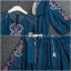 เดรสเกาหลี พร้อมส่ง เดรส ทรงน่ารัก ผ้ายีนเทียม thumbnail 11
