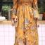 ชุดเดรสเกาหลี พร้อมส่ง dress ปริ้นลายดอก thumbnail 12