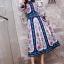 ชุดเดรสเกาหลี พร้อมส่ง เดรสยาว ผ้าsilk เนื้อผ้าปริ้นท์ลาย thumbnail 10