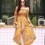 ชุดเดรสเกาหลี พร้อมส่ง dress ปริ้นลายดอก thumbnail 8
