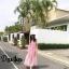 เดรสเกาหลี พร้อมส่ง แม็กซี่เดรส สุดหวานสวยน่ารัก thumbnail 2