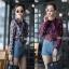 เสื้อเกาหลี พร้อมส่ง เสื้อเชิ้ต ซีฟองพิมพ์ลายจุป้าจุ๊ป thumbnail 1