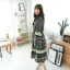 เดรสเกาหลี พร้อมส่ง เดรสโบฮีเมียน ผ้าดี ผ้าเย็น thumbnail 8
