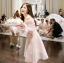 ชุดเดรสเกาหลี พร้อมส่ง ชุดเปิดไหล่ style เจ้าหญิง ฟูฟ่อง thumbnail 6