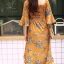 ชุดเดรสเกาหลี พร้อมส่ง dress ปริ้นลายดอก thumbnail 13