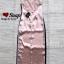 ชุดเดรสเกาหลี พร้อมส่ง Maxi Dress สายเดียว ผ้าสีพื้นมันเงา thumbnail 11