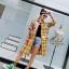 เดรสเกาหลี พร้อมส่ง Dress คอปกเชิ๊ต ลายสก๊อต thumbnail 2