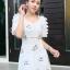 ชุดเดรสเกาหลี พร้อมส่ง Princess Dress ผ้าปักน้องผึ้ง thumbnail 3