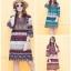เดรสเกาหลี พร้อมส่ง Dress ผ้าสปันเนื้อบาง thumbnail 1