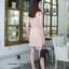 เดรสเกาหลี พร้อมส่ง เดรสทรงสูท สั้น แต่งกระดุม 6เม็ด thumbnail 4