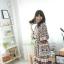 เดรสเกาหลี พร้อมส่ง เดรสโบฮีเมียน ผ้าดี ผ้าเย็น thumbnail 4