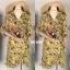 ชุดเดรสเกาหลี พร้อมส่ง Dress ลายดอกระบายทรงwrap thumbnail 4