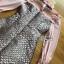 เดรสเกาหลี พร้อมส่ง เดรสผ้าชีฟอง สีชมพู thumbnail 10
